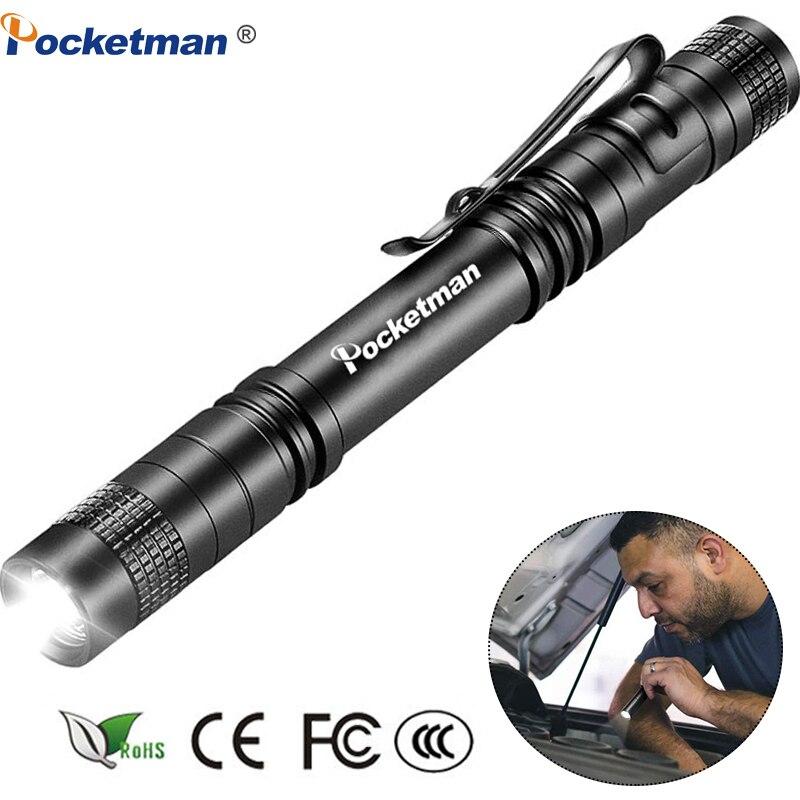 Мини-фонарик, лм, ручка-фонарик, маленький водонепроницаемый фонарик, карманный фонарик, фонарик для ремонта автомобиля, 1 шт., карманный фон...