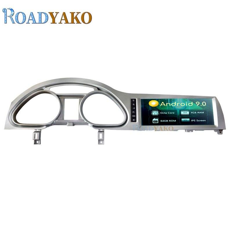 10,25 coche Multimedia магнитола reproductor de Video Android 9,0 para AUDI Q7 2010-2015 3G MMI estéreo Radio de coche GPS de navegación 2 Din