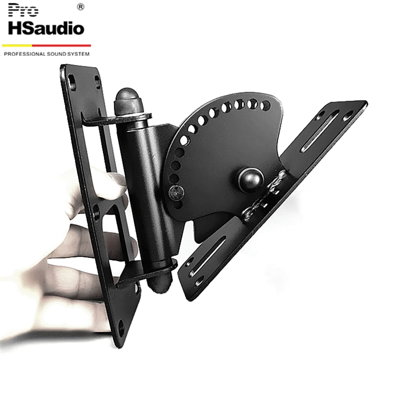 ProHSaudio (2PCS/Lot) Speaker Stand ,Metal Wall-Mounted Audio Bracket,Max Load Capacity 40KG enlarge
