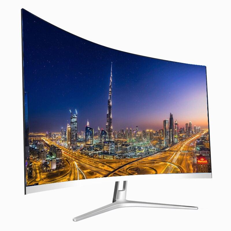 4k مراقب Hd أبيض أسود 32 بوصة 144Hz عرض شاشة عرض ألعاب ، ألعاب الكمبيوتر