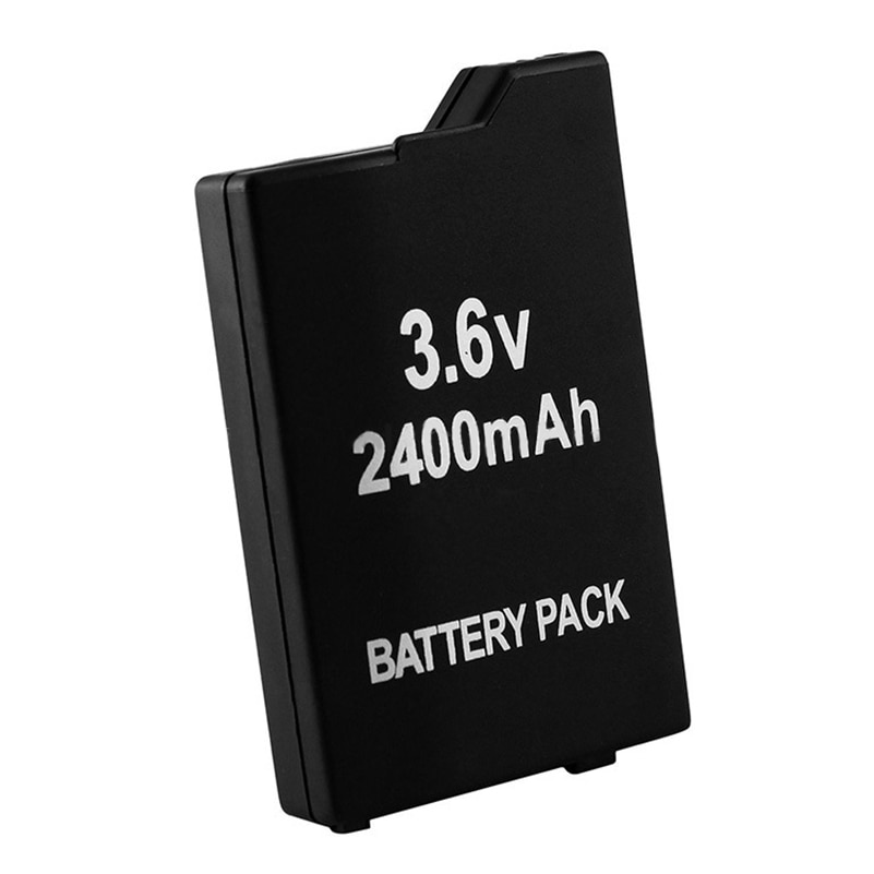 2400mAh 3.6V Rechargeable Lithium Ion Pack for Sony PSP2000 PSP3000 PSP 2000 3000 PSP-S360 Console Gamepad Replacement Batteries 4pcs 3 6v 2400mah psp 2000 batteries for sony psp2000 psp3000 console