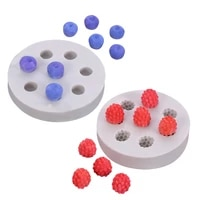 diy sugarcraft blueberry raspberry silicone mold chocolate fondant moulds baking kitchen accessories cake decorating tools