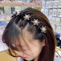 new headband broken hair clip hairband female bangs fixed hairpin braided hairpin hair headdress wholesale woman accessories