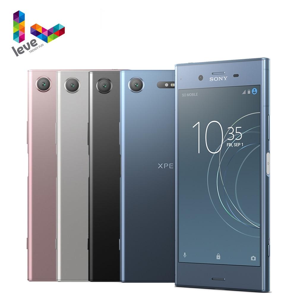 Sony Xperia XZ1 G8341 1SIM разблокирован мобильный телефон 5,2 дюйм 4 Гб оперативной памяти, 64 Гб встроенной памяти, Octa Core, 19MP 4 аппарат не привязан к оператору ...