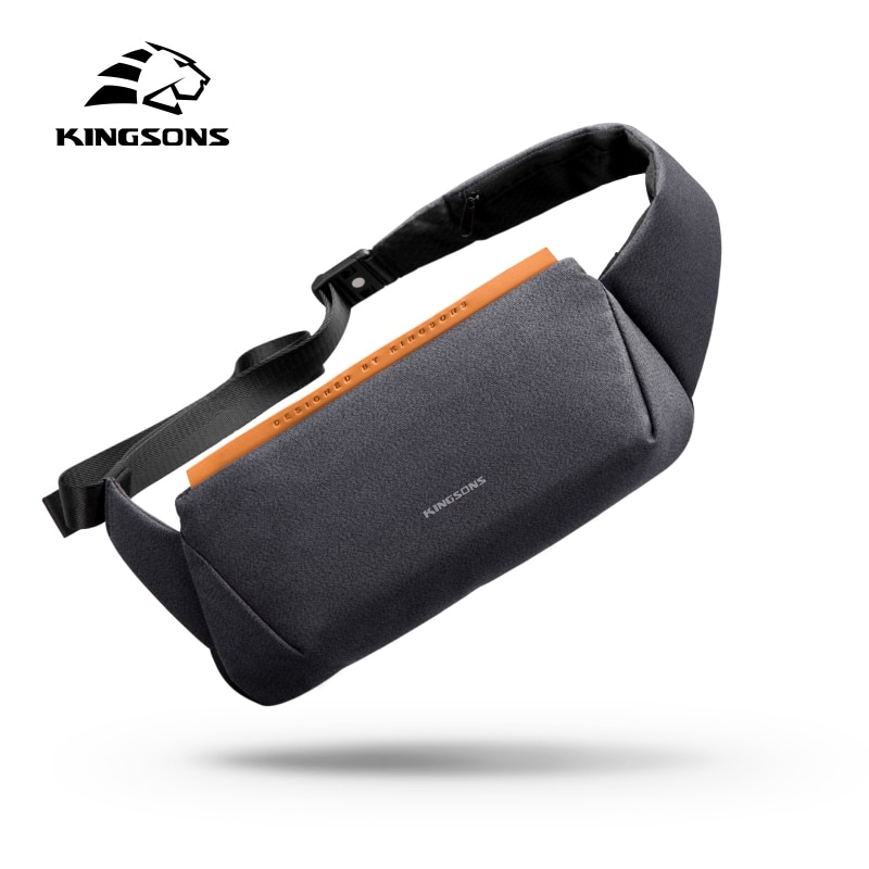Kingsons Small High Quality One Shoulder Bag Men Messenger Bags Male Waterproof Sling Chest Bag Boy Walking Bagpack Cross Body