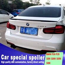 Nuevo diseño 2013, 2014, 2015, 2016, 2017 para BMW F30 F35 spoiler por material de ABS de alta calidad color DIY F35 320i 320li 325li 328i