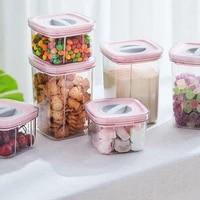 multi purpose transparent transparent food storage container household accessories