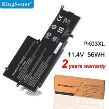 KingSener Neue PK03XL Laptop Batterie für HP Spectre Pro X360 Spectre 13 HSTNN-DB6S 6789116-005 11,4 V 56WH Freies 2 jahre Warrranty