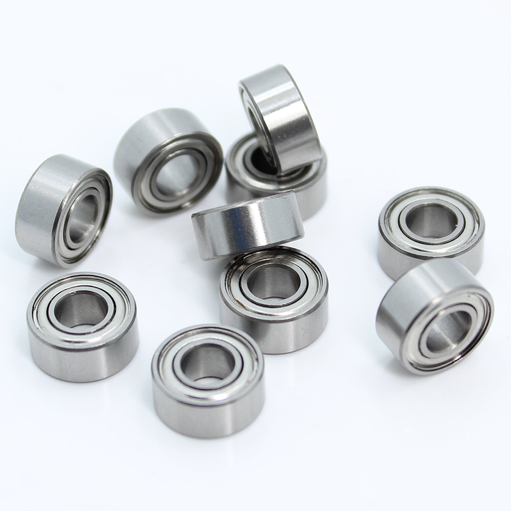 2pcs set stainless steel ball bearing smr105 2os cb abec 7 ld 5 10 4mm S685ZZ Bearing 5*11*5 mm ( 10PCS ) ABEC-1 440C Roller Stainless Steel S685Z S685 Z ZZ Ball Bearings