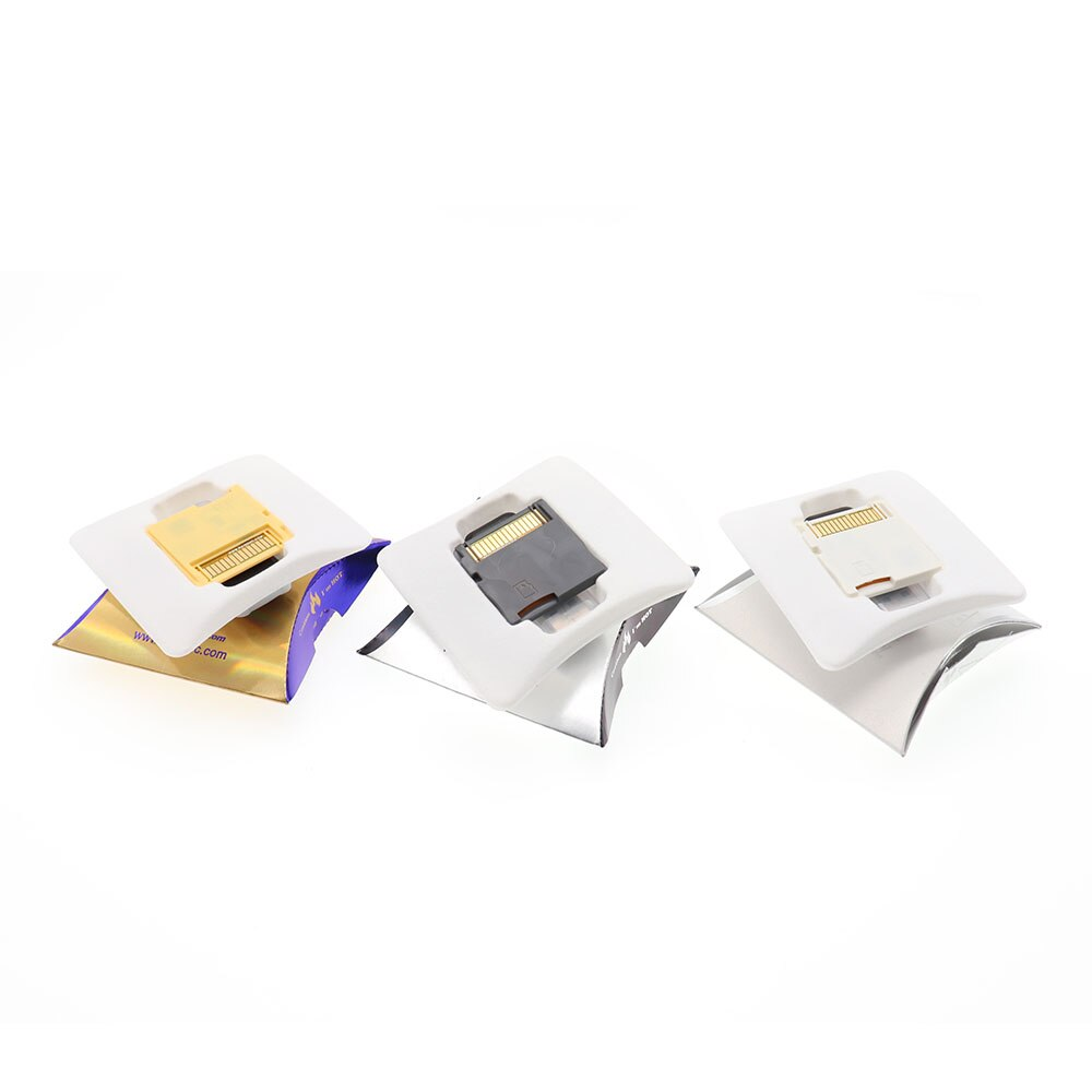 New R4 SDHC Gold White Silver Video Game Card Download By Self With Retail Box(Without TF card