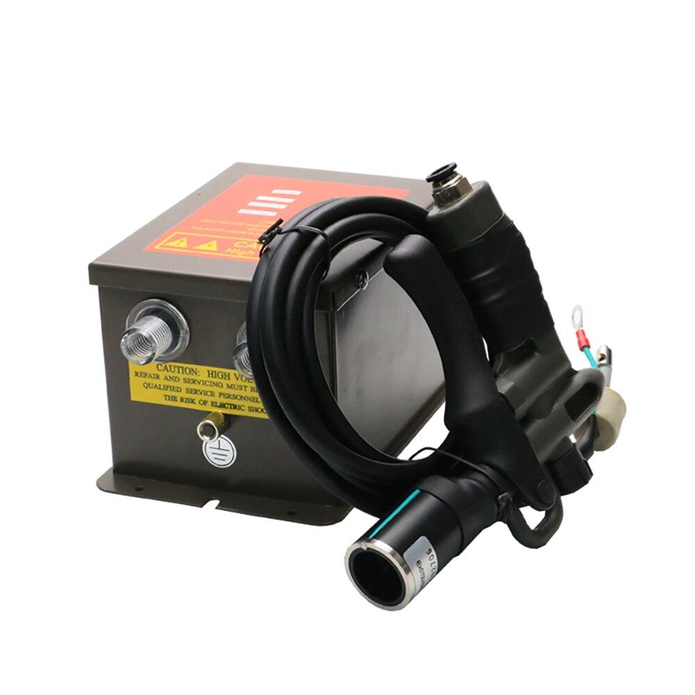 SL-004C المؤين منفاخ الهواء مزيل ثابت المرسب الكهربائي الغبار بندقية مع التيار المتناوب 7.0KV مولد جهد كهربائي عالي الفوليتية 40-80PSI