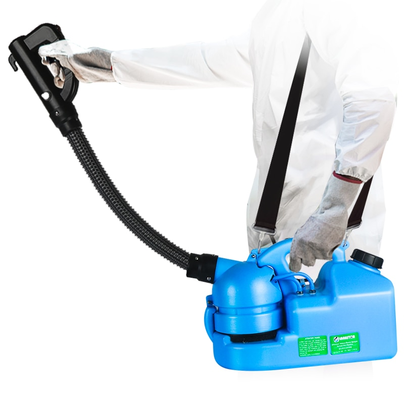 (Envío desde Polonia/RU) pulverizador eléctrico ULV, máquina de nebulización de mosquitos, atomizador inteligente, desinfección de nebulizador de Ultra baja capacidad