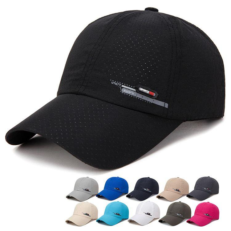 Мужские и женские быстросохнущие шапки на открытом воздухе спортивные бейсболки летние солнцезащитные кепки дышащая кепки для рыбалки
