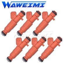 Waweimi marca novo 6x bocal do injetor de combustível f01rb0m149 bons bocais de combustível do perfonrmance para peças de enginges de automóveis