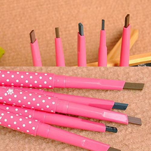 Ceja de larga duración rotatoria, lápiz delineador, lápiz para cejas, maquillaje, herramienta cosmética