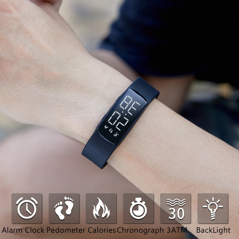 Relogio Feminino 2020 Women Watch LED Military Waterproof LED Digital Wrist Watch Sports Electronics Watches Relogio Saat + Box