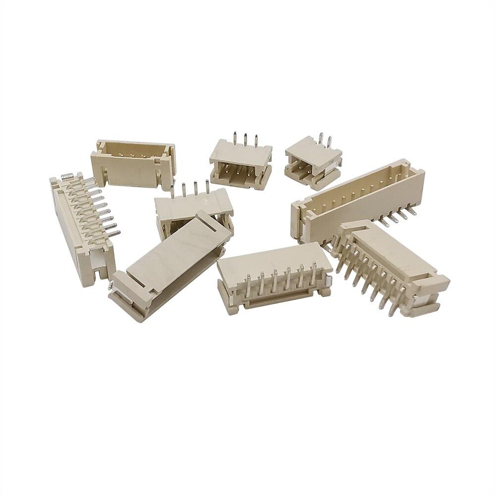 100 шт. мелкофасованого продукта/вертикальный SMD провод разъем клеммной вилки коннектора PH 2,0 мм PH2.0 Американская классификация проводов 2р 3P 4 5 6P 7P 8 9Pin 10 контактный