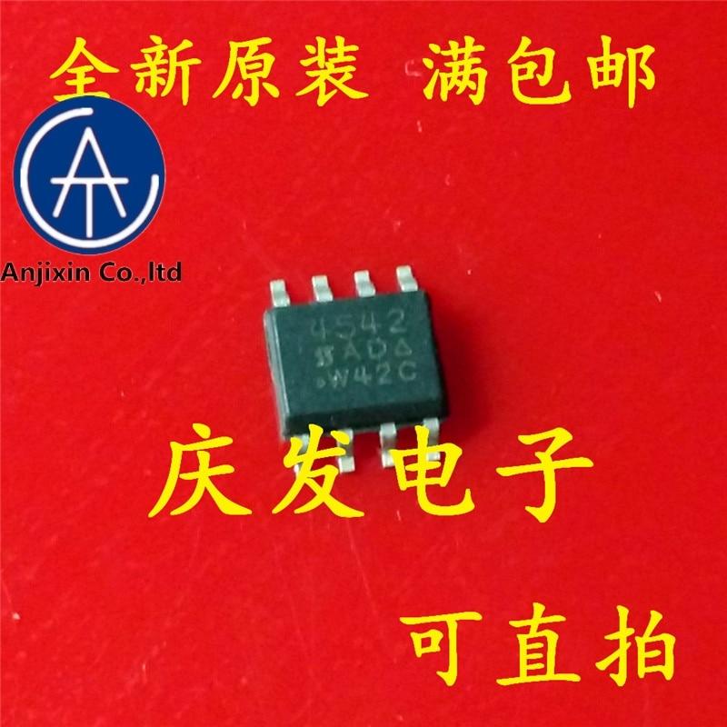 10 шт. 100% оригинальный новый 100% качественный настоящий запас Новый и оригинальный SI4542DY - T1 - E3 SI4542DY SI4542 SOP8