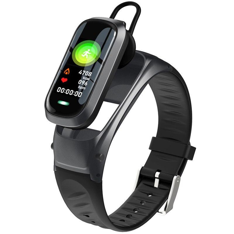 B9 смарт-браслет с функцией вызова, Bluetooth, наушники, браслет с монитором сердечного ритма, фитнес-трекер, гарнитура, смарт-браслет для разговора на IOS, Android