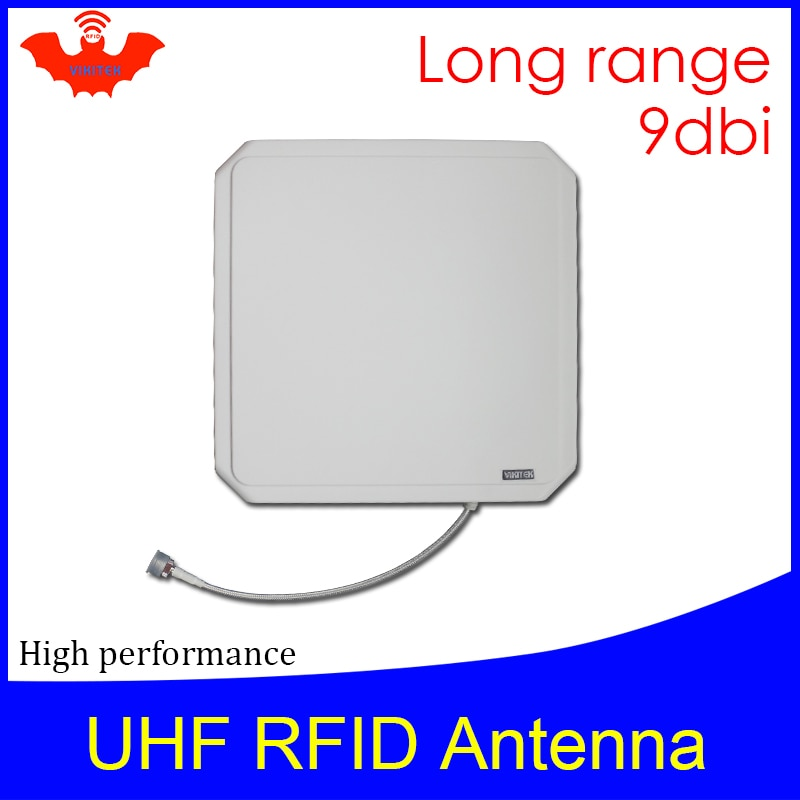 15m long range uhf rfid reader module 865 868mhz 902 928mhz with one antenna port used for timing system UHF RFID antenna Vikitek VA094 high performance 915MHZ Long range RFID Panel antenna 9dBic 902-928MHZ be used for rfid reader