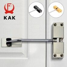 KAK-dispositivo de cierre de puerta con resorte automático de acero inoxidable, dispositivo que puede ajustar el cierre de la puerta, herrajes para puertas de muebles