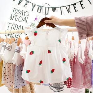 Evening Dress Babies WeddingDressChildren DressForKids Cute Kids Dresses Strwaberry Girls Kids Wear Costume Party Clothes