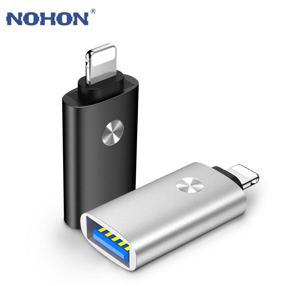 Адаптер OTG для lightning-USB для iPhone 7, 8, 6, 5 S Plus, X, 10, конвертер, iPad, iOS 12, 13, кабель для подключения камеры, MIDI piano, зарядное устройство