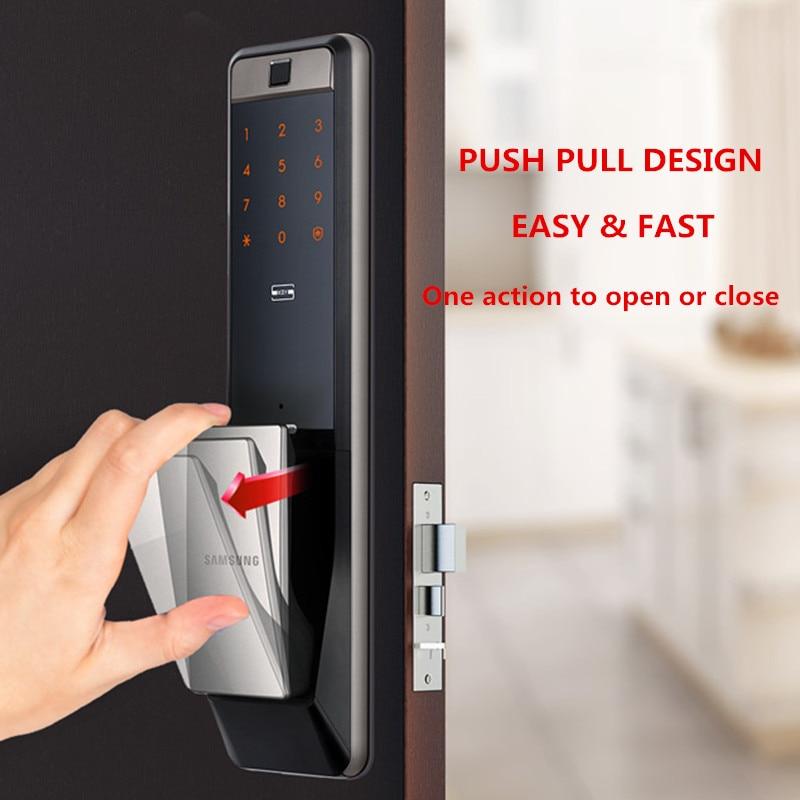 NEW SAMSUNG SHP-DP609 Smart Home WiFi Digital Door Lock Safe Fingerprint Locks Fechadura Digital Cerradura Inteligente