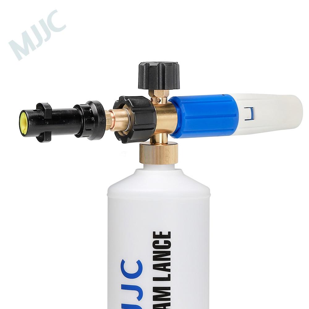 MJJC with High Quality Foam Gun for Karcher K2 - K7, Snow Foam Lance for all Karcher K Series pressure washer Karcher