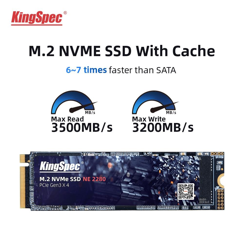 كينغسبيك NVME وايث درام كاش SSD هايت سبيد قرص صلب 512 جيجا 1 تيرا بايت 2 تيرا بايت PCIE 2280 محركات أقراص داخلية صلبة للكمبيوتر lapop