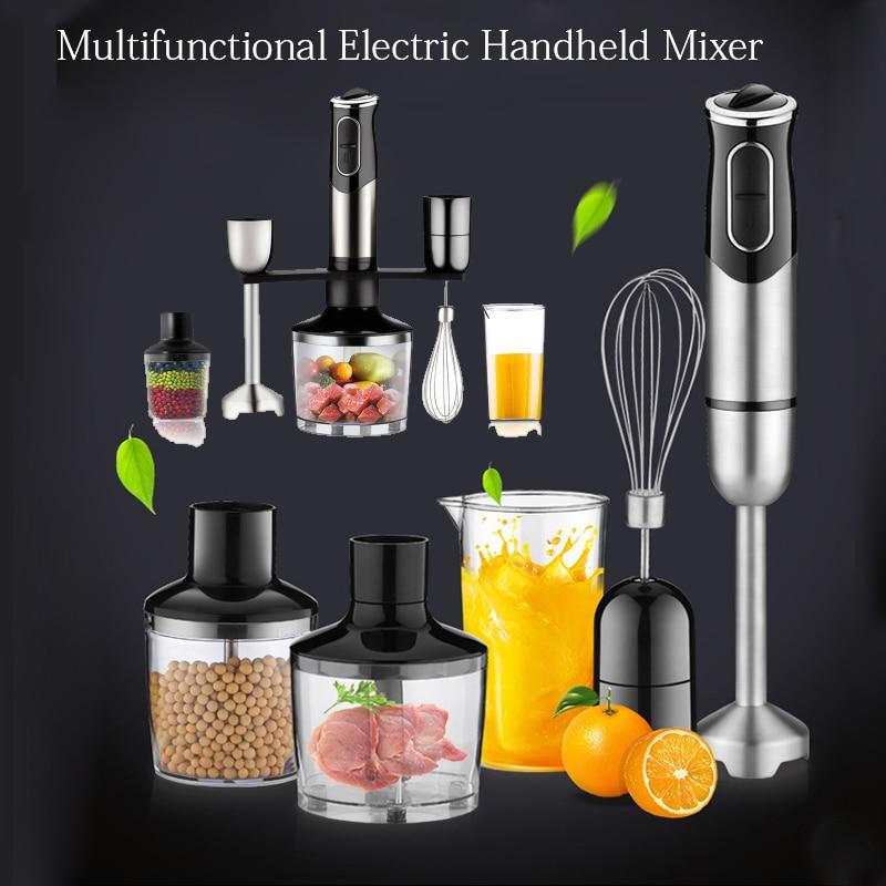 Batidora eléctrica de mano con Motor alemán, Batidora inteligente, procesador de alimentos Profesional