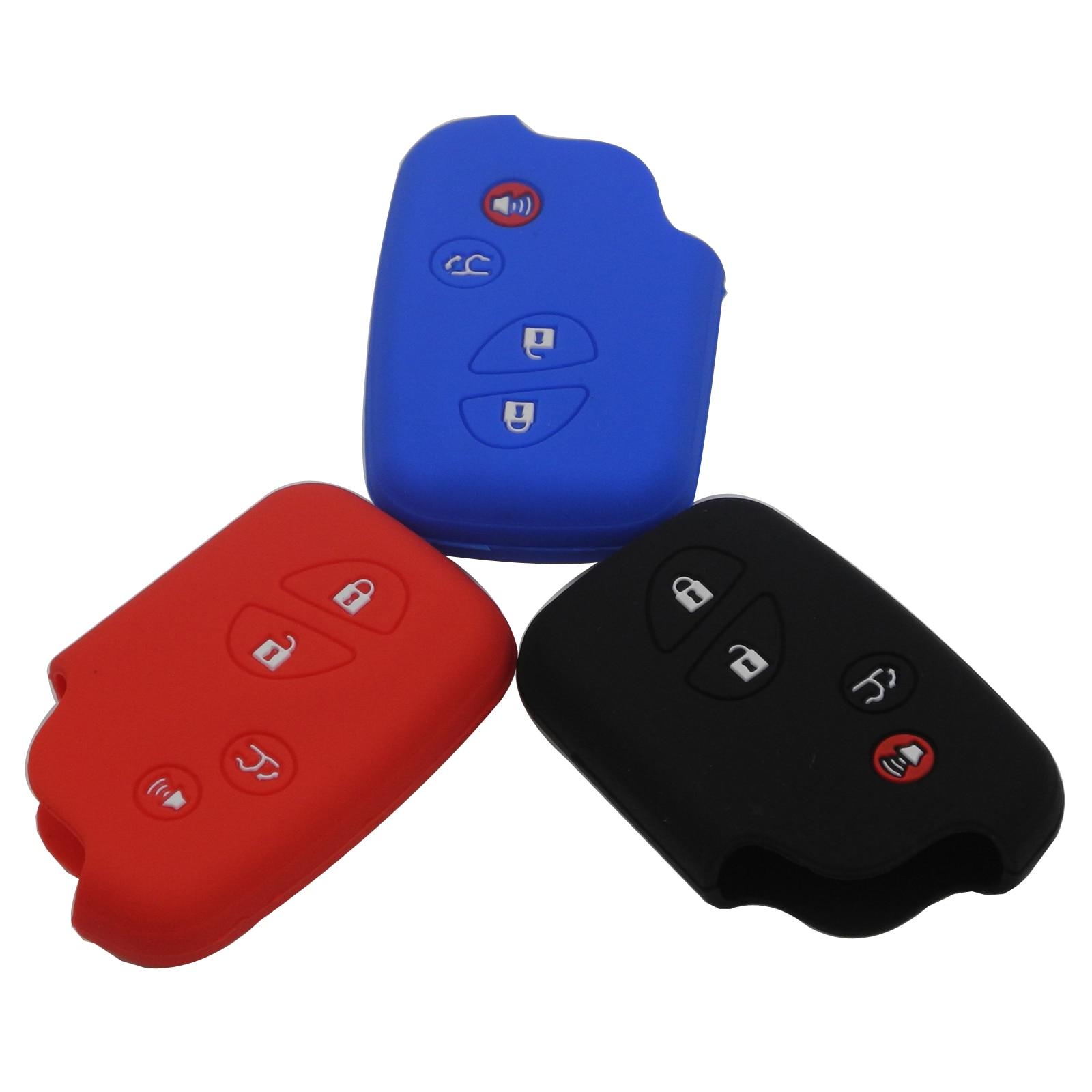 Kutery 4 botones funda para mando a distancia de coche funda de...