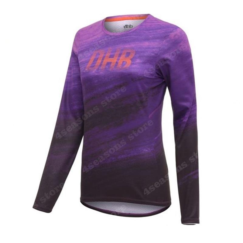 2020 Long Sleeve women Mtb Jersey Quick Dry Sport Enduro Motocross jersey BMX Bicycle Top Mountain Bike Shirts Uniform