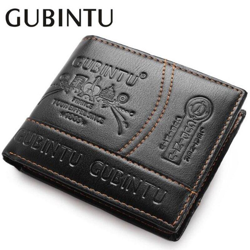 Топ 2020, винтажный деловой мужской кожаный брендовый Роскошный кошелек, короткие тонкие мужские бумажники, зажим для денег и кредитных карт, ...