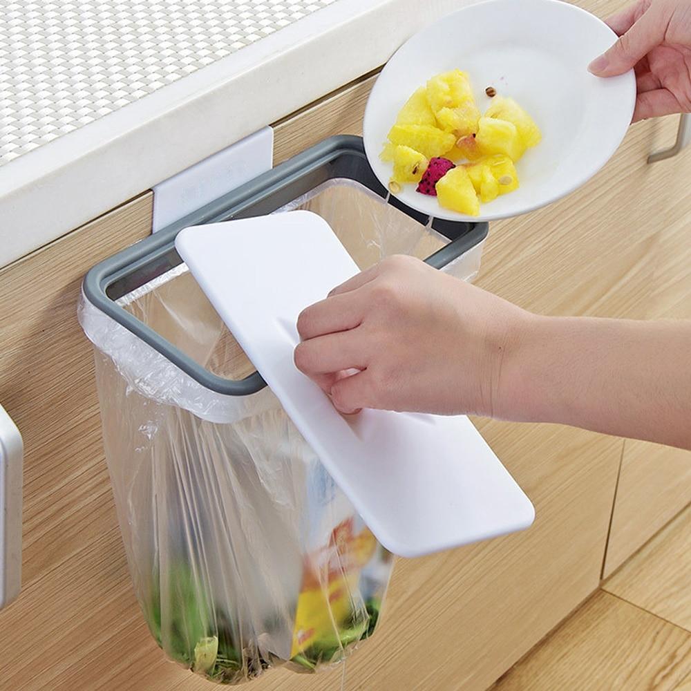 Bolsa de basura, estante de almacenamiento, accesorios de cocina, Alacena, colgador de cocina para baño, papelera, suministros de juguetes, contenedores de comida, cocina