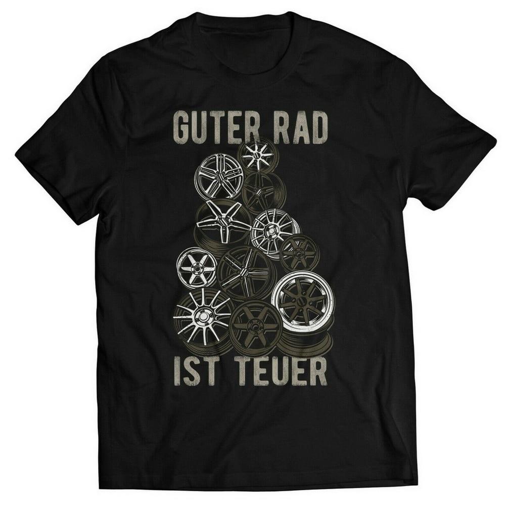 Camiseta de buena Rueda, es cara, Funshirt, llave inglesa, llantas de aleación, afinación para hombre, camiseta 5XL, Envío Gratis, ligero