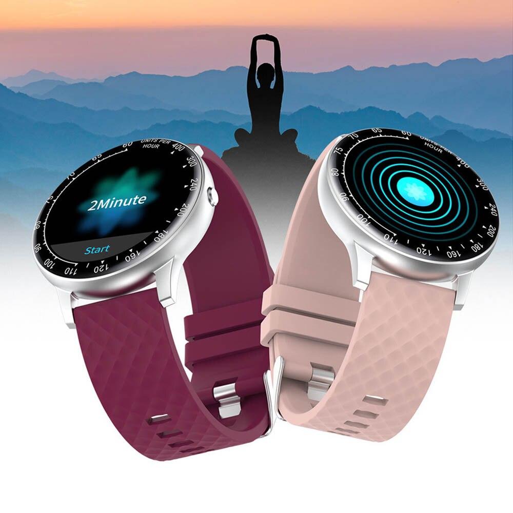Inteligente para Android Tela de Toque Ip67 à Prova Relógio Telefone Masculino Mulher Completa Pressão Arterial Freqüência Cardíaca Monitor Sono Dip67 Água Smartver Ios