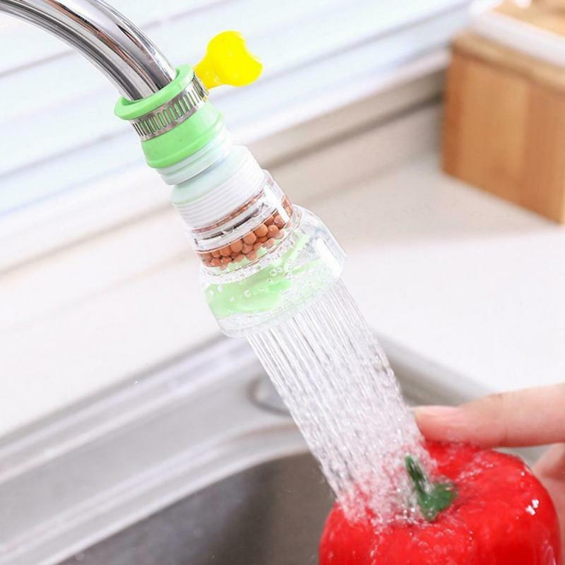 Fast Ship! 360 Degree Rotatable Spray Head Tap Durable Faucet Filter Nozzle 3 Modes Kitchen Tap Nozzle Tap Filter Faucet BEST