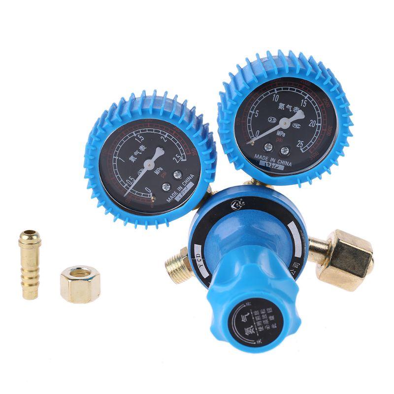 Medidor de presión de nitrógeno regulador de soldadura medidor reductor de presión de nitrógeno regulador de nitrógeno