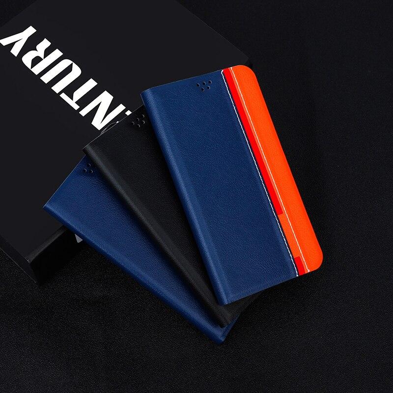 Funda para Xiaomi Redmi 4X 4A 4 4Pro 3S, funda de teléfono de piel sintética con tapa para Redmi 5 5A 6 6A 7A 6 Pro Go Note 7, carcasa trasera de silicona blanda