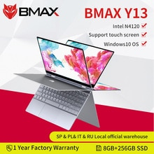 BMAX Y13 360° Laptop 13.3 inch Notebook Windows 10  8GB LPDDR4 256GB SSD 1920*1080 IPS Intel N4120