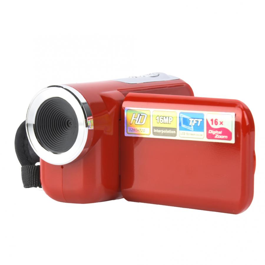 Cámara de vídeo Digital Profesional para niños, Videocámara portátil de 16X HD...