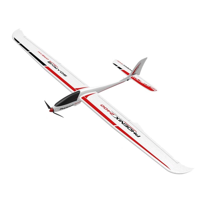 Volantex 759-3 Phoenix 2400 2400mm Wingspan EPO Foam RC Drone Airplane PNP Version Remote Controller
