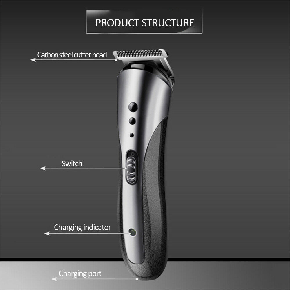Kemei -1407 3 in1 Rechargeable Electric Wireless Hair Trimmer Beard Nose  Ear Cordless Professional Shaver Hair Clipper For Men enlarge