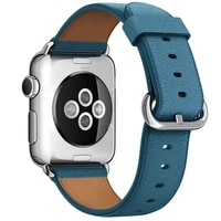 leather strap for apple watch band 44mm 42mm watchband iwatch 38mm 40mm se 654321 sport bracelet buckle apple watch 6 5 4 3
