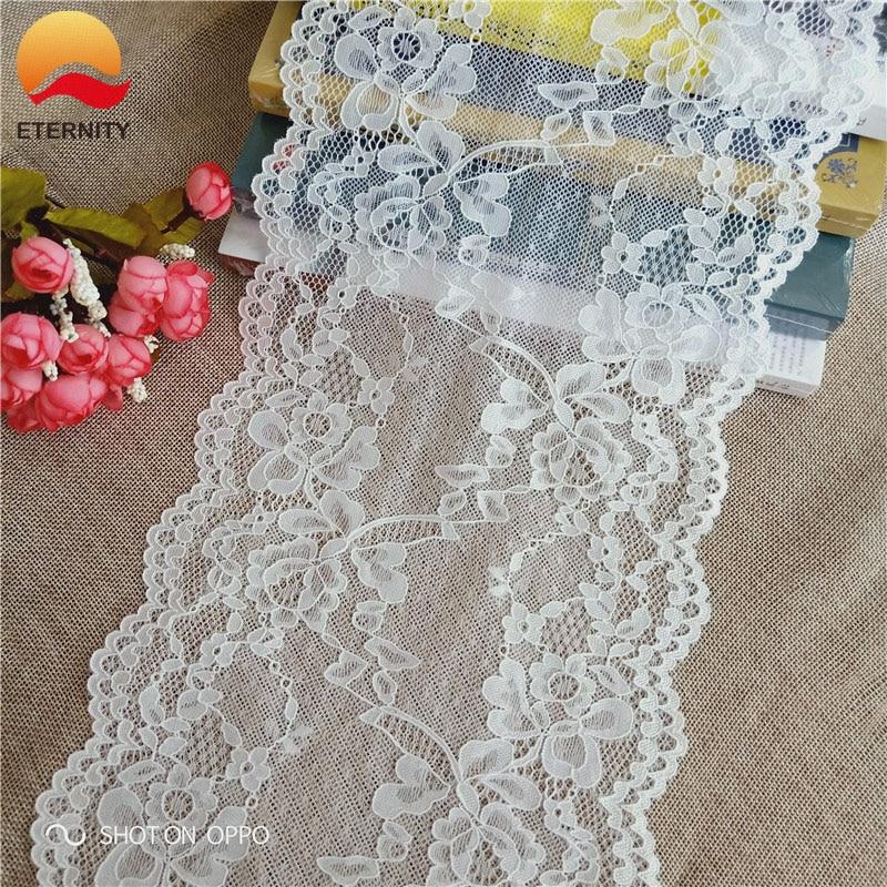 *20.5cm E2793 chantilly pattern color elastic soft mesh eyes spandex elastic white lace lace decorative skirt set cloth umbrella