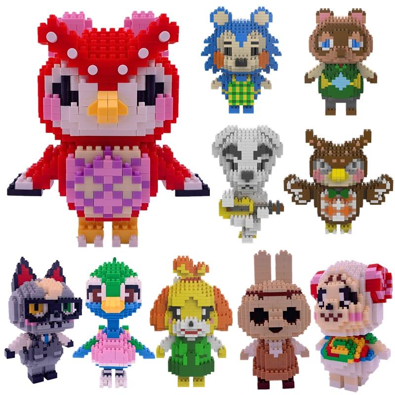 Raymond Mini DIY Animal Crossing Creative Building Blocks Classic Assembling 3D Zucker Puzzle Children's Decoration Toys