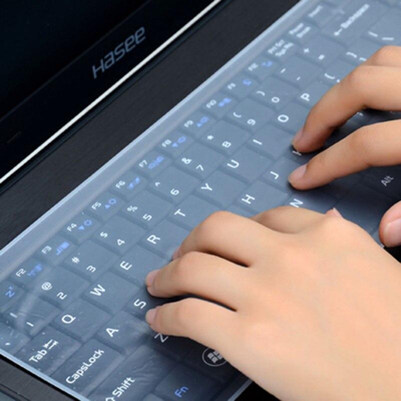 Водонепроницаемая Защитная пленка для клавиатуры ноутбука 15 дюймов чехол для клавиатуры ноутбука 15,6 17 14 чехол для клавиатуры ноутбука сили...