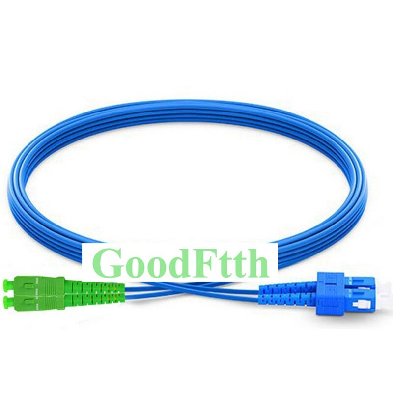 Armoured armored Patch Cord SC-SC/APC SM Duplex Zipcord Zip Cord GoodFtth 20-50m