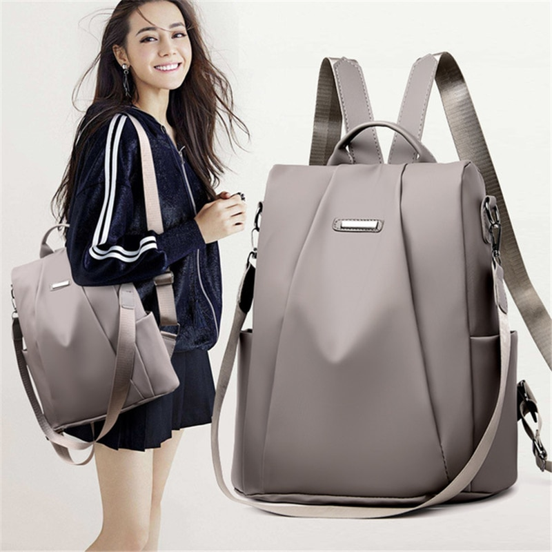 Fashion Women Backpack Spandex Travel Bagpack Large School Shoulder Bags For Teenager Girls mochila